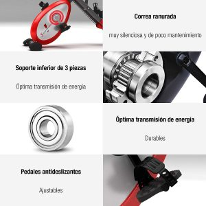 caracateristicas Sportstech Plegable F-Bike x100 B