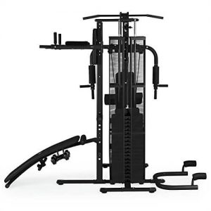 vista-perfil-maquina-klarfit-Ultimate-gym-500-color-negro