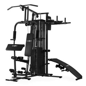 vista-perpendicular-maquina-klarfit-Ultimate-gym-500-color-negro