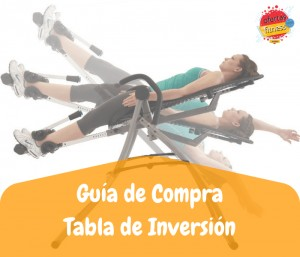 Guía de Compra tabla de inversion