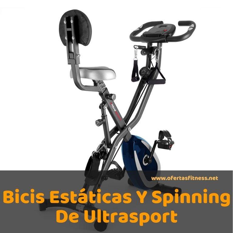 Bicis Estáticas Y Spinning De Ultrasport