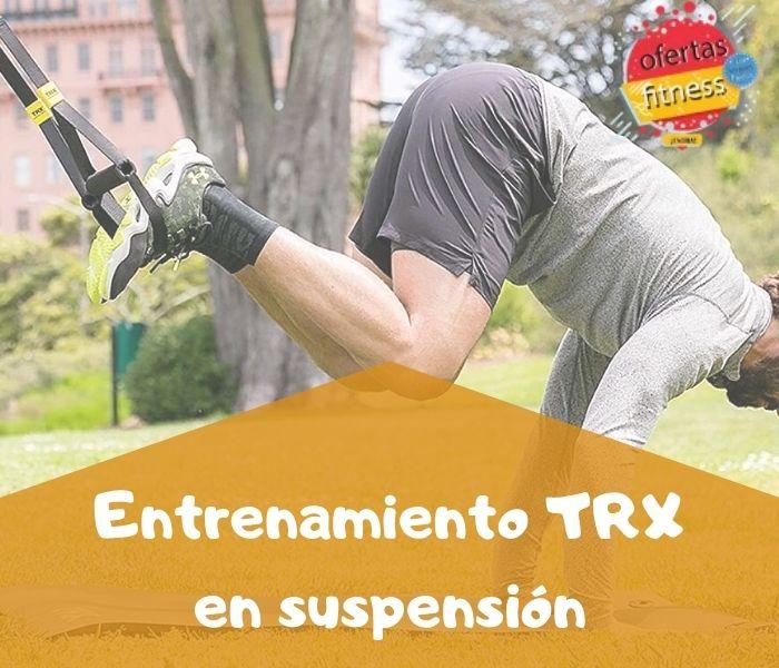 Entrenamiento TRX en suspensión
